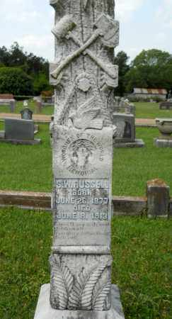 RUSSELL, S W - Lafayette County, Arkansas   S W RUSSELL - Arkansas Gravestone Photos