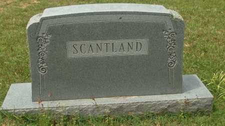 SCANTLAND FAMILY STONE,  - Lafayette County, Arkansas    SCANTLAND FAMILY STONE - Arkansas Gravestone Photos