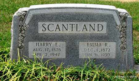 SCANTLAND, EMMA R - Lafayette County, Arkansas | EMMA R SCANTLAND - Arkansas Gravestone Photos