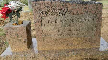 SCARBROUGH, DIRK O - Lafayette County, Arkansas   DIRK O SCARBROUGH - Arkansas Gravestone Photos