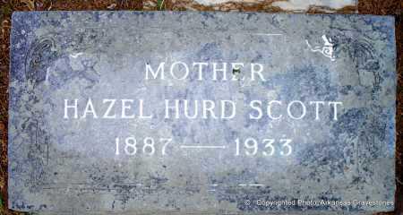 SCOTT, HAZEL - Lafayette County, Arkansas | HAZEL SCOTT - Arkansas Gravestone Photos