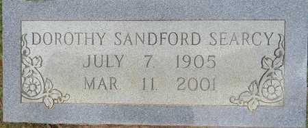 SEARCY, DOROTHY - Lafayette County, Arkansas   DOROTHY SEARCY - Arkansas Gravestone Photos