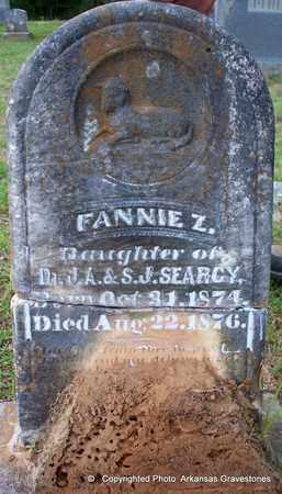 SEARCY, FANNIE Z - Lafayette County, Arkansas   FANNIE Z SEARCY - Arkansas Gravestone Photos