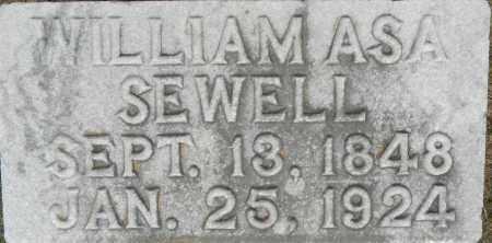 SEWELL, WILLIAM ASA - Lafayette County, Arkansas | WILLIAM ASA SEWELL - Arkansas Gravestone Photos