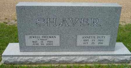SHAVER, JEWELL FREEMAN - Lafayette County, Arkansas | JEWELL FREEMAN SHAVER - Arkansas Gravestone Photos