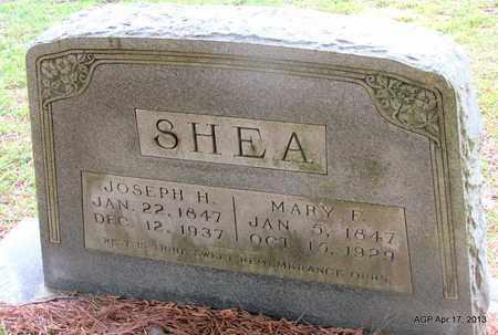 SHEA, JOSEPH H - Lafayette County, Arkansas | JOSEPH H SHEA - Arkansas Gravestone Photos