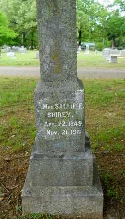 SHIREY, SALLIE E. - Lafayette County, Arkansas | SALLIE E. SHIREY - Arkansas Gravestone Photos