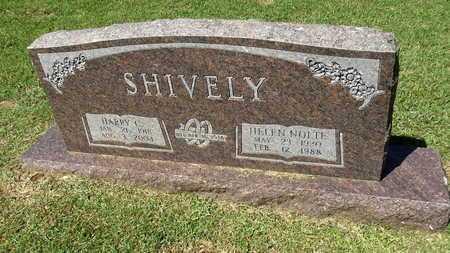 NOLTE SHIVELY, HELEN - Lafayette County, Arkansas | HELEN NOLTE SHIVELY - Arkansas Gravestone Photos