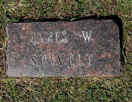 SHIVELY, JAMES W - Lafayette County, Arkansas | JAMES W SHIVELY - Arkansas Gravestone Photos