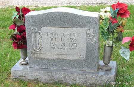 SHORT, HENRY D - Lafayette County, Arkansas   HENRY D SHORT - Arkansas Gravestone Photos