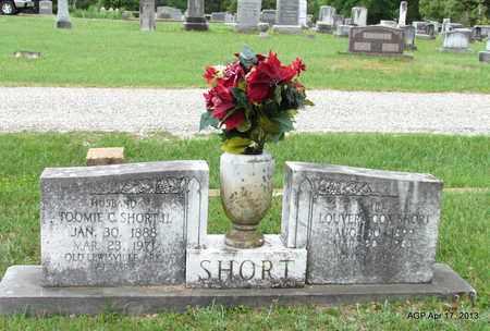 COX SHORT, LOUVERA - Lafayette County, Arkansas | LOUVERA COX SHORT - Arkansas Gravestone Photos