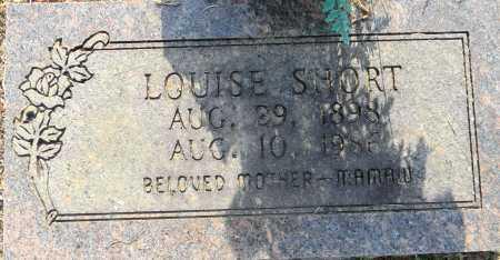 SHORT, LOUISE - Lafayette County, Arkansas | LOUISE SHORT - Arkansas Gravestone Photos