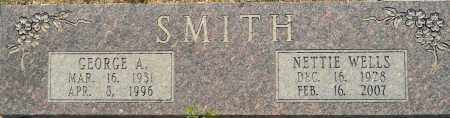 WELLS SMITH, NETTIE - Lafayette County, Arkansas | NETTIE WELLS SMITH - Arkansas Gravestone Photos