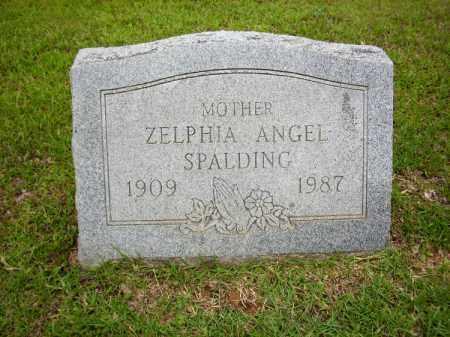 SPALDING, ZELPHIA ANGEL - Lafayette County, Arkansas   ZELPHIA ANGEL SPALDING - Arkansas Gravestone Photos