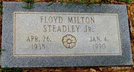 STEADLEY, JR, FLOYD MILTON - Lafayette County, Arkansas   FLOYD MILTON STEADLEY, JR - Arkansas Gravestone Photos