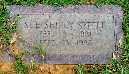 SHIREY STEELE, SUE - Lafayette County, Arkansas | SUE SHIREY STEELE - Arkansas Gravestone Photos