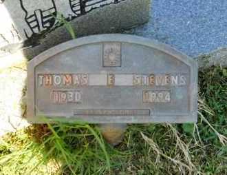 STEVENS, THOMAS E - Lafayette County, Arkansas   THOMAS E STEVENS - Arkansas Gravestone Photos