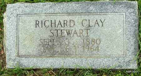 STEWART, RICHARD CLAY - Lafayette County, Arkansas   RICHARD CLAY STEWART - Arkansas Gravestone Photos