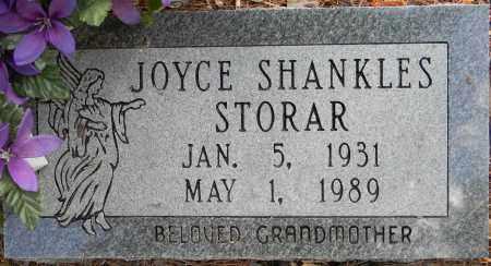SHANKLES STORAR, JOYCE - Lafayette County, Arkansas | JOYCE SHANKLES STORAR - Arkansas Gravestone Photos