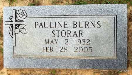BURNS STORAR, PAULINE - Lafayette County, Arkansas | PAULINE BURNS STORAR - Arkansas Gravestone Photos