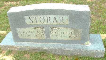 STORAR, THOMAS K - Lafayette County, Arkansas   THOMAS K STORAR - Arkansas Gravestone Photos