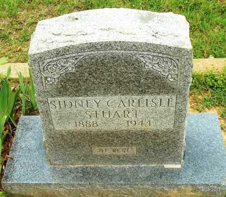 STUART, SIDNEY CARLISLE - Lafayette County, Arkansas   SIDNEY CARLISLE STUART - Arkansas Gravestone Photos