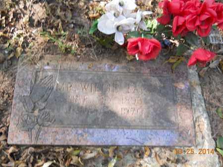 TARRY, WILLIE - Lafayette County, Arkansas | WILLIE TARRY - Arkansas Gravestone Photos
