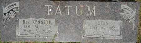 TATUM, KENNETH, REV - Lafayette County, Arkansas   KENNETH, REV TATUM - Arkansas Gravestone Photos