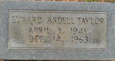 TAYLOR, EDWARD ARDELL - Lafayette County, Arkansas | EDWARD ARDELL TAYLOR - Arkansas Gravestone Photos