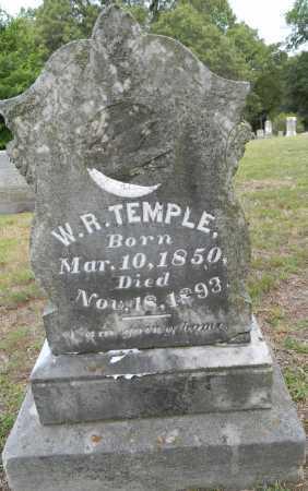 TEMPLE, W R - Lafayette County, Arkansas | W R TEMPLE - Arkansas Gravestone Photos