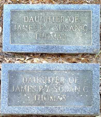 THOMAS, INFANT DAUGHTER - Lafayette County, Arkansas | INFANT DAUGHTER THOMAS - Arkansas Gravestone Photos