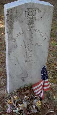 THOMAS (VETERAN CSA), JAMES P - Lafayette County, Arkansas   JAMES P THOMAS (VETERAN CSA) - Arkansas Gravestone Photos