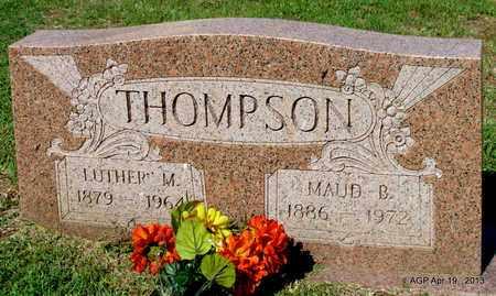 THOMPSON, MAUD B - Lafayette County, Arkansas | MAUD B THOMPSON - Arkansas Gravestone Photos