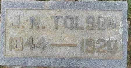 TOLSON, JOHNATHAN NORMAN - Lafayette County, Arkansas   JOHNATHAN NORMAN TOLSON - Arkansas Gravestone Photos