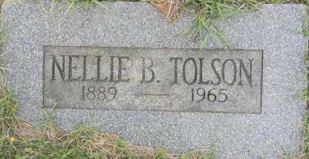 TOLSON, NELLIE B - Lafayette County, Arkansas | NELLIE B TOLSON - Arkansas Gravestone Photos