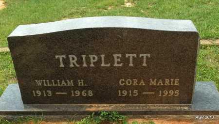 TRIPLETT, CORA MARIE - Lafayette County, Arkansas | CORA MARIE TRIPLETT - Arkansas Gravestone Photos