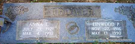 TROWER, ANNA L - Lafayette County, Arkansas   ANNA L TROWER - Arkansas Gravestone Photos