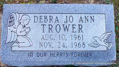 TROWER, DEBRA JO ANN - Lafayette County, Arkansas   DEBRA JO ANN TROWER - Arkansas Gravestone Photos