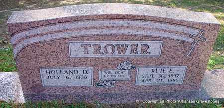 TROWER, RUIE E - Lafayette County, Arkansas   RUIE E TROWER - Arkansas Gravestone Photos