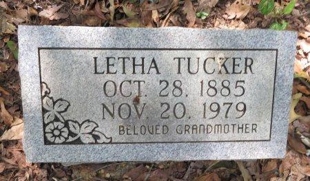 TUCKER, LETHA - Lafayette County, Arkansas | LETHA TUCKER - Arkansas Gravestone Photos