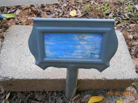 SANDERS, UNKNOWN - Lafayette County, Arkansas   UNKNOWN SANDERS - Arkansas Gravestone Photos
