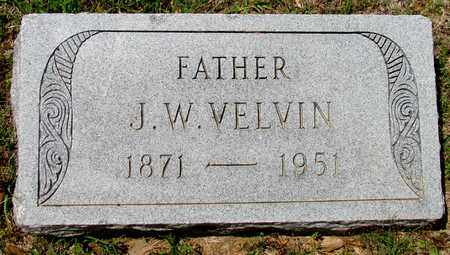 VELVIN, J. W. - Lafayette County, Arkansas | J. W. VELVIN - Arkansas Gravestone Photos