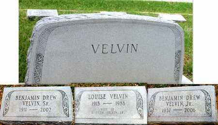 VELVIN, JR, BENJAMIN DREW - Lafayette County, Arkansas   BENJAMIN DREW VELVIN, JR - Arkansas Gravestone Photos
