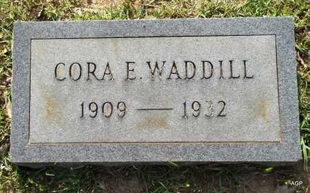 WADDILL, CORA ELIZABETH - Lafayette County, Arkansas | CORA ELIZABETH WADDILL - Arkansas Gravestone Photos