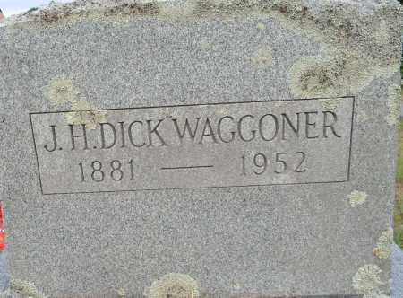 "WAGGONER, J H ""DICK"" - Lafayette County, Arkansas | J H ""DICK"" WAGGONER - Arkansas Gravestone Photos"
