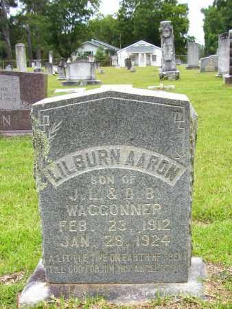 WAGGONNER, LILBURN AARON - Lafayette County, Arkansas | LILBURN AARON WAGGONNER - Arkansas Gravestone Photos