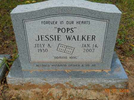 WALKER, JESSIE - Lafayette County, Arkansas | JESSIE WALKER - Arkansas Gravestone Photos