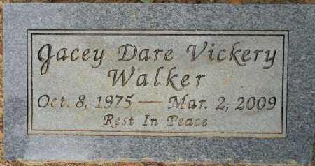 VICKERY WALKER, JACEY DARE - Lafayette County, Arkansas   JACEY DARE VICKERY WALKER - Arkansas Gravestone Photos