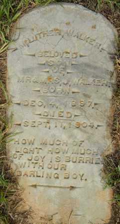 WALKER, LUTHER - Lafayette County, Arkansas   LUTHER WALKER - Arkansas Gravestone Photos
