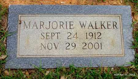 WALKER, MARJORIE - Lafayette County, Arkansas   MARJORIE WALKER - Arkansas Gravestone Photos